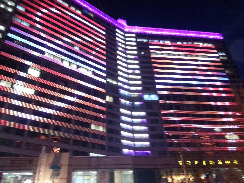 Москва сияет светодиодными огнями